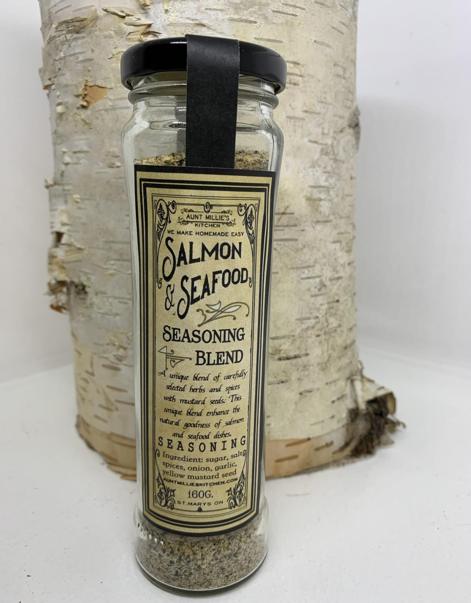 Aunt Millies Kitchen Salmon Seafood Spice Blend 160g
