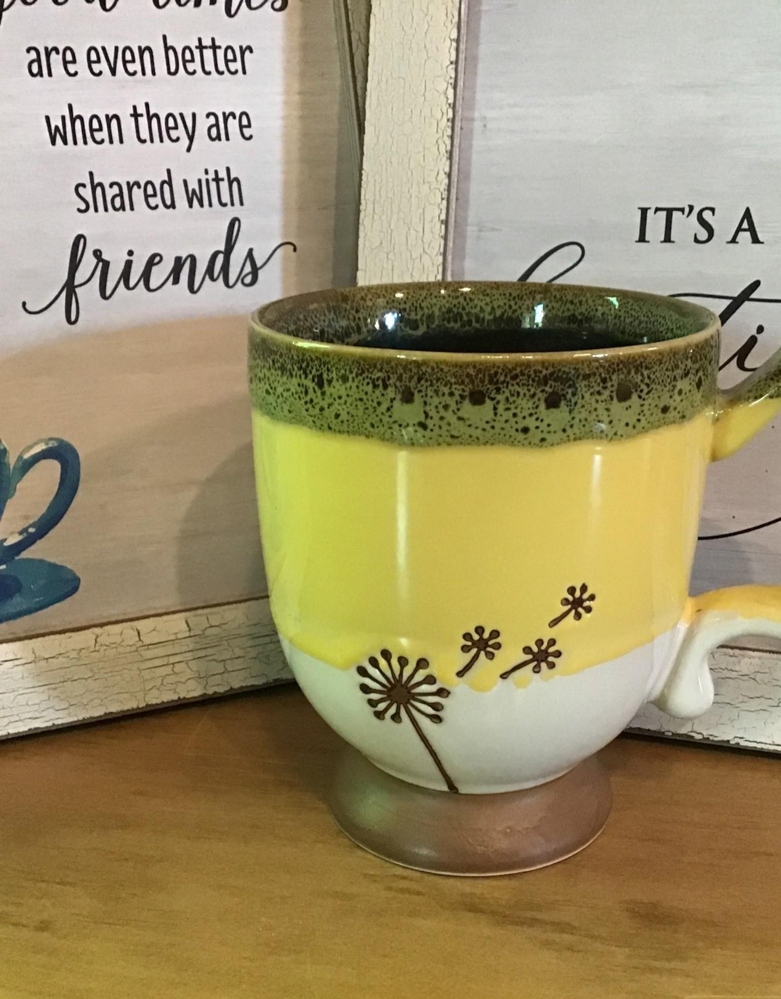 Dandelion Mug - Yellow