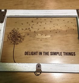 Delight in the simple things