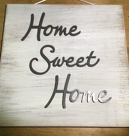 Home Sweet Home - Wooden Plaque