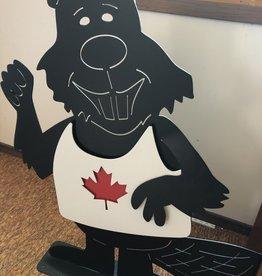 Murals In Metal Metal Canadian Beaver (Made in Lucan Ontario)