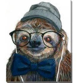 Streamline Art Hipster Sloth
