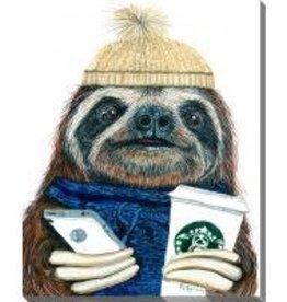 Streamline Art Urban Sloth
