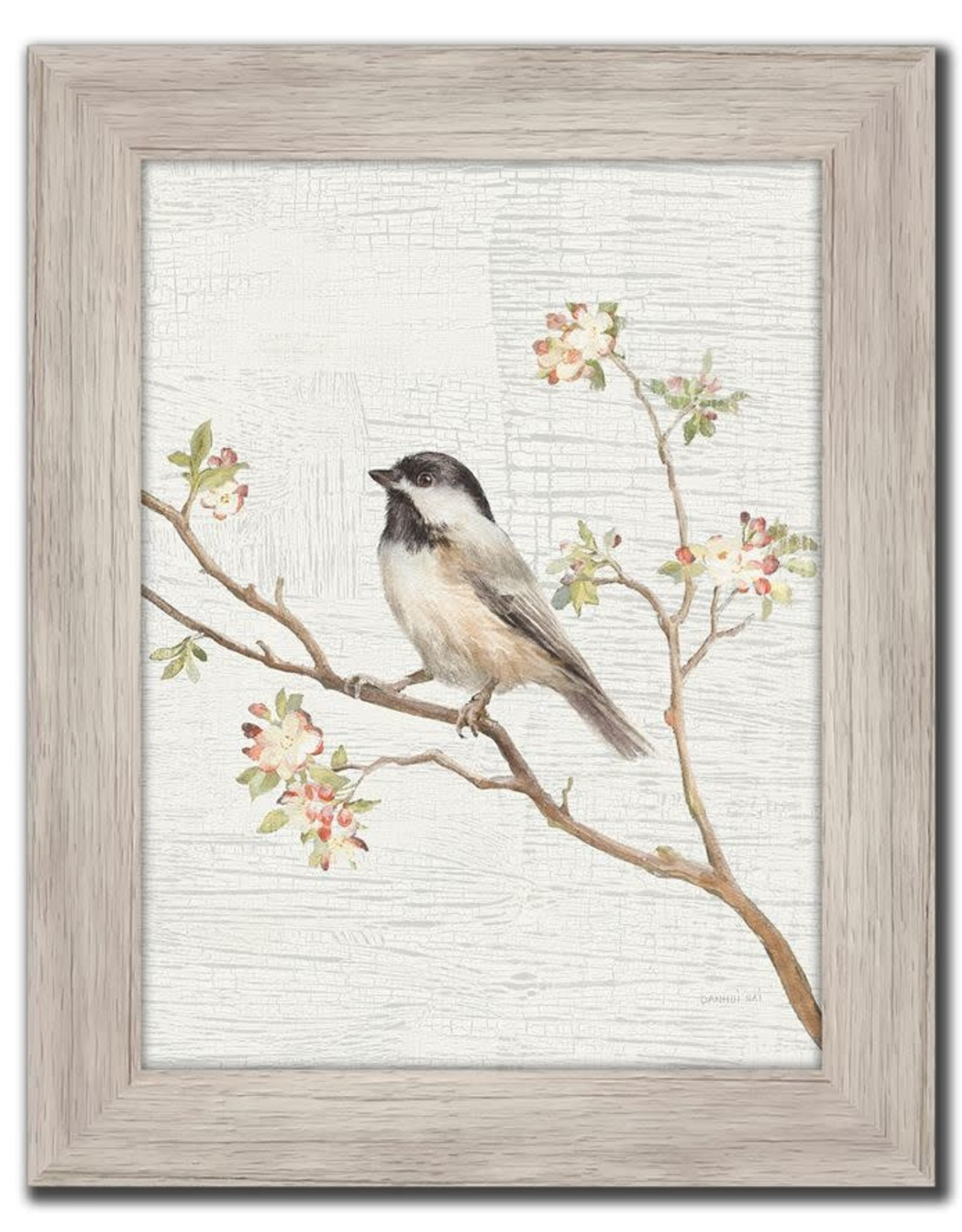 Streamline Art Black Capped Chickadee