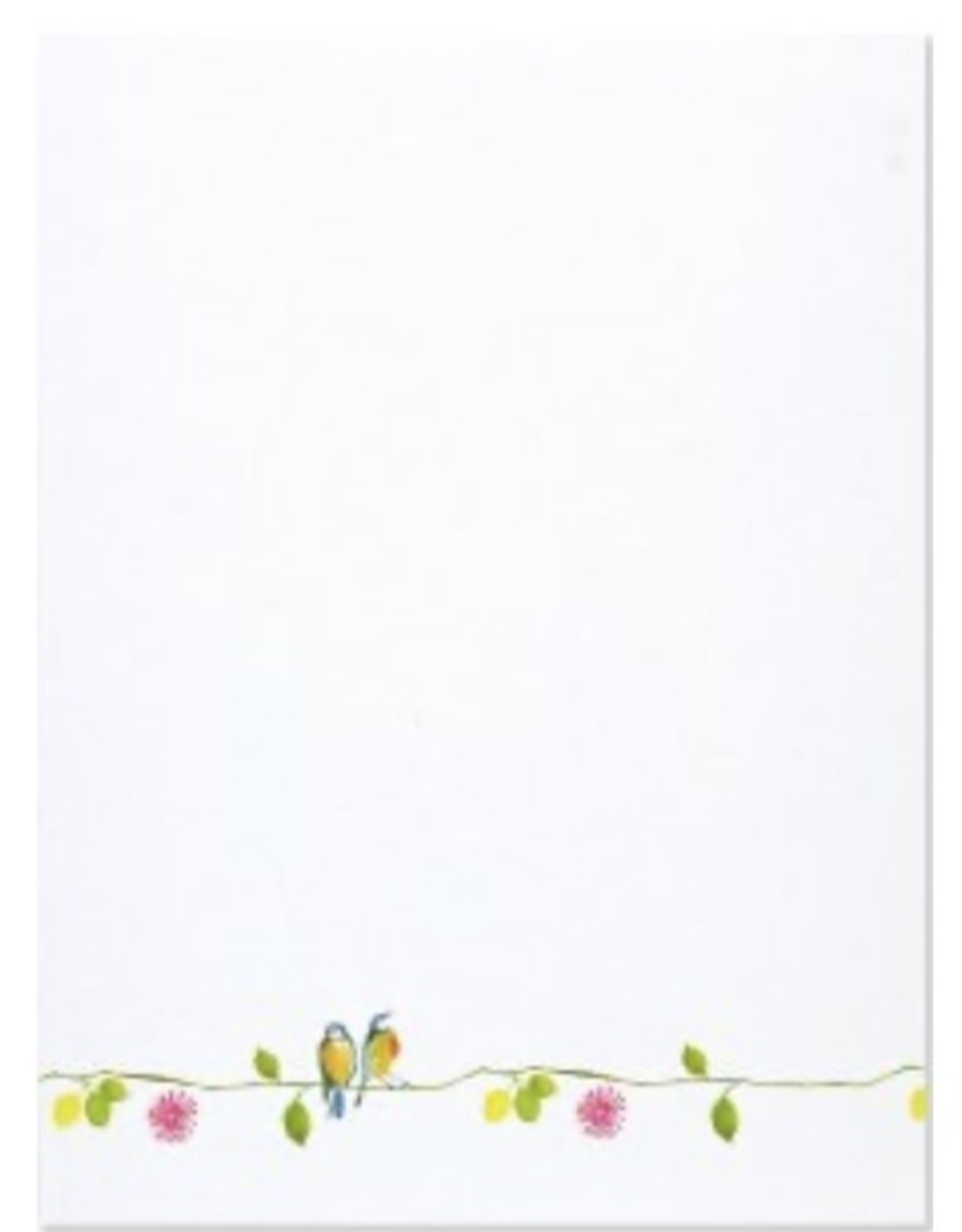 Watercolour Birds Stationery