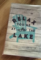 F as in Frank Relax You're at the Lake