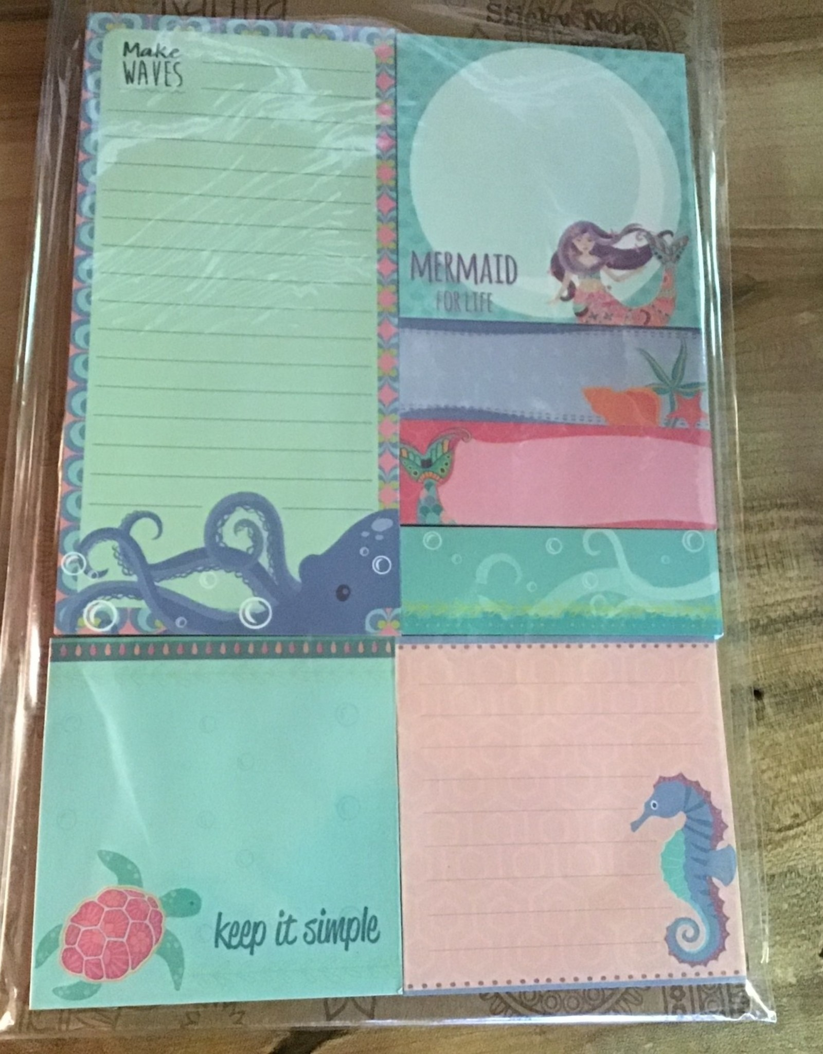 Karma Mermaid Sticky Notes