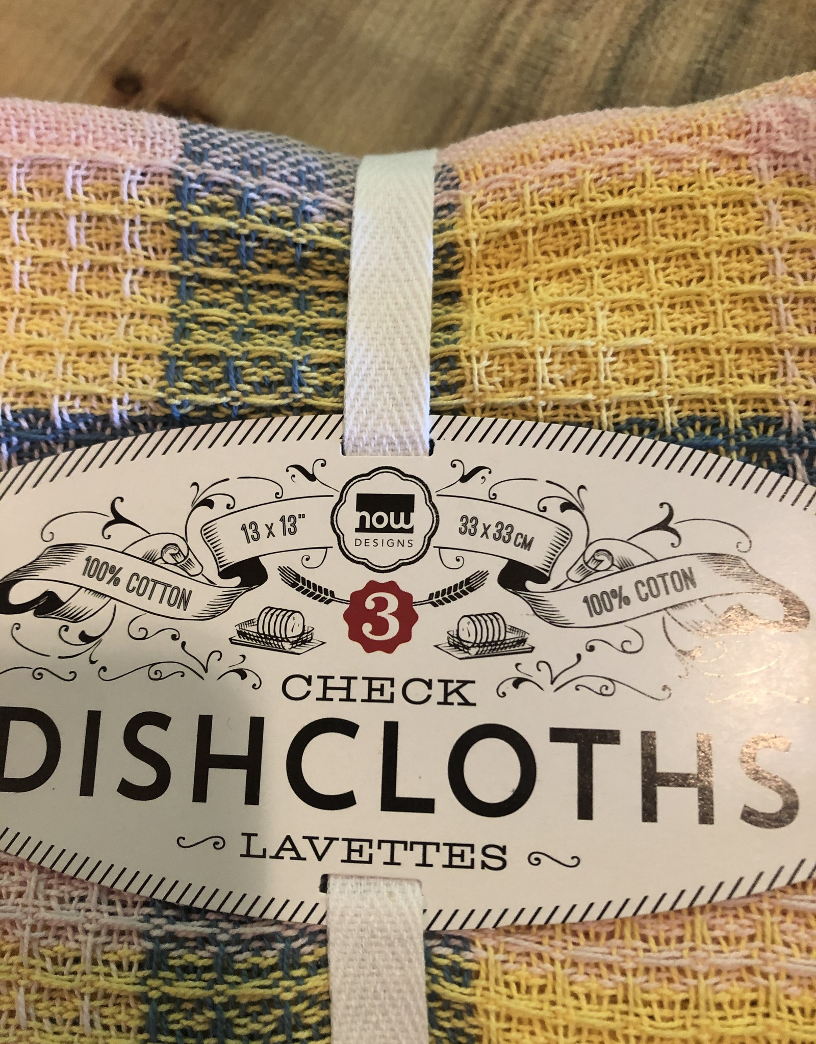 Dishcloths set of 3
