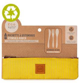 Ketto Utensil Set Zero Waste Yellow