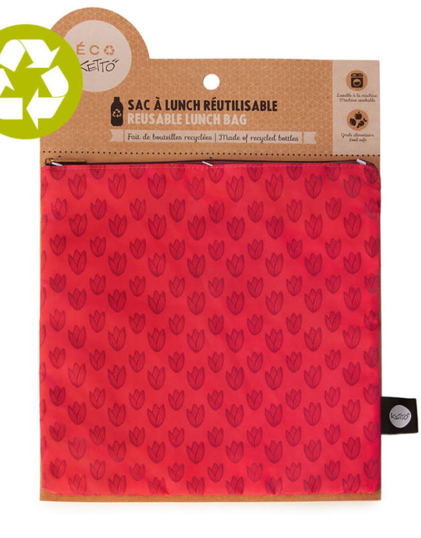 Ketto Reusable Lunch Bag Large Mother Nature