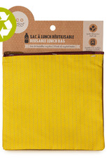 Ketto Reusable Lunch Bag Medium Yellow Knit
