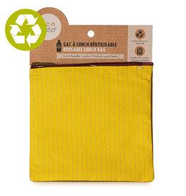 Ketto Reusable Lunch Bag Medium Yellow Knit