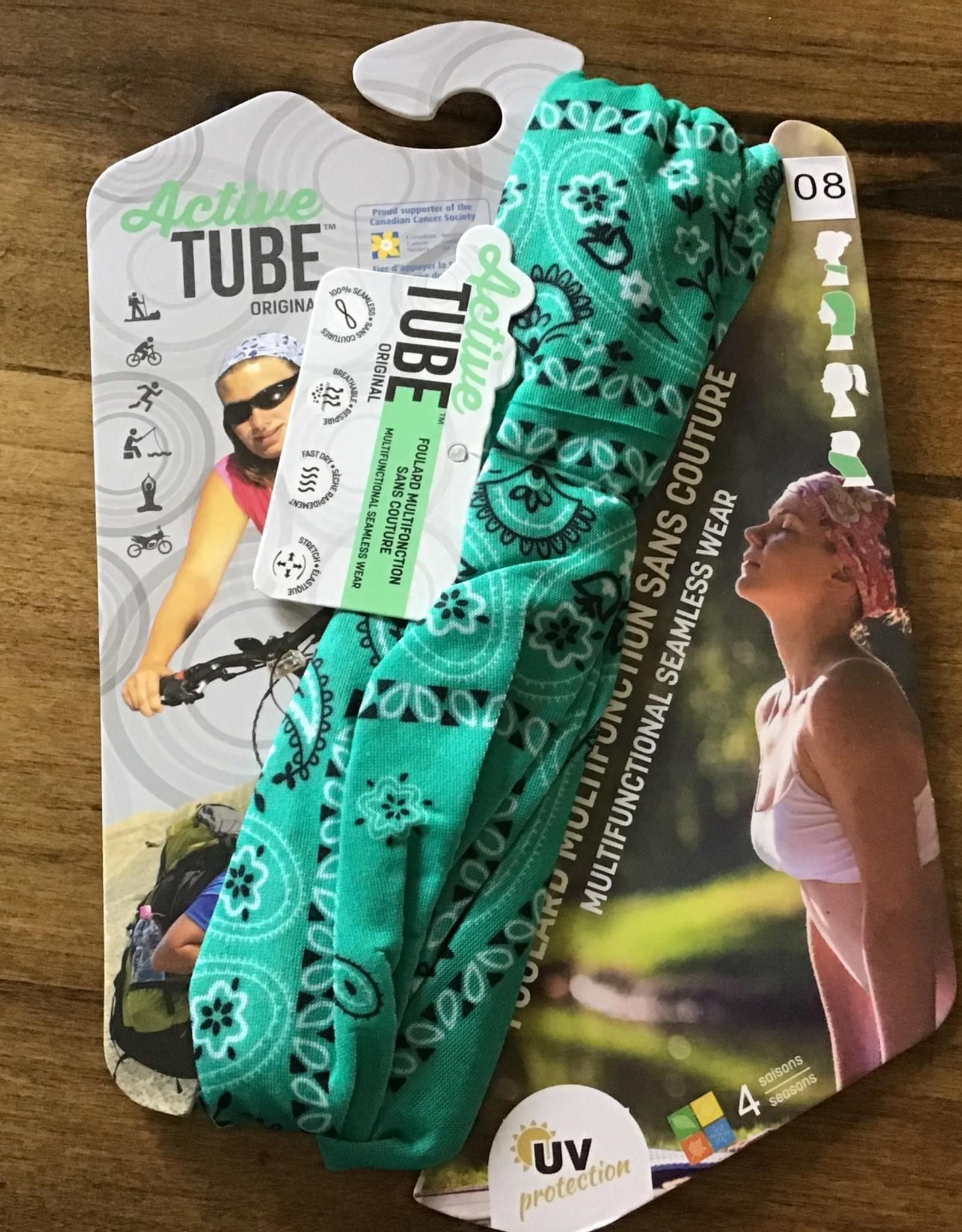 Vision Vogue Active Tube - Green Paisley