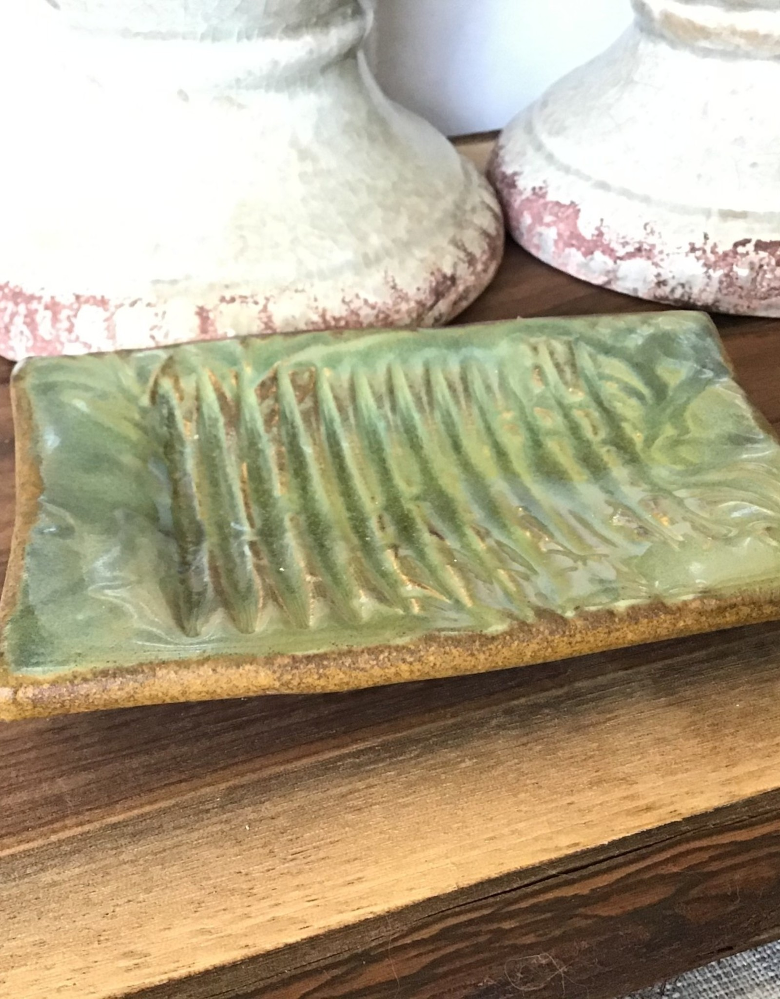 All Fired Up Soap Dish