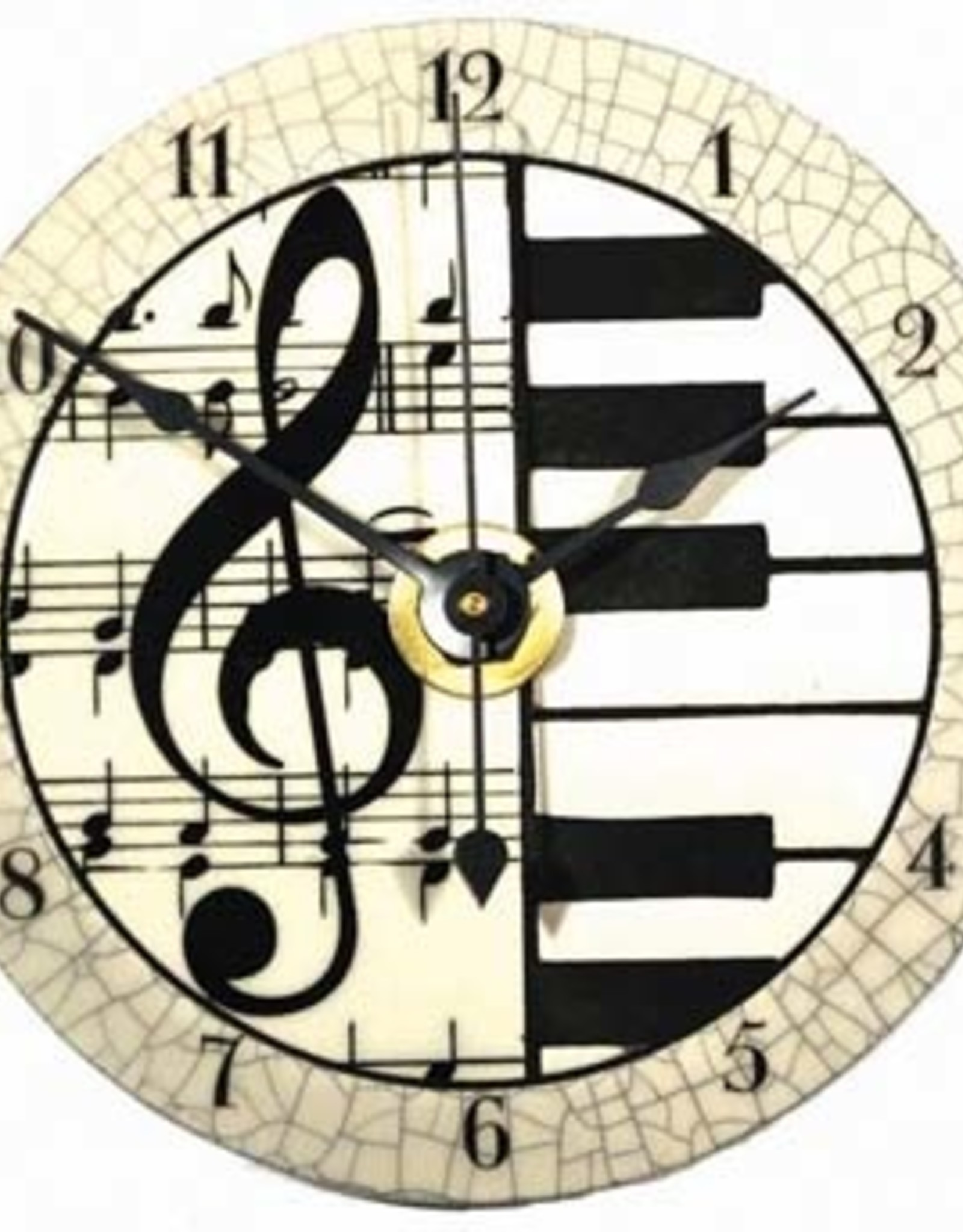 All Fired Up Clock - Classic Music