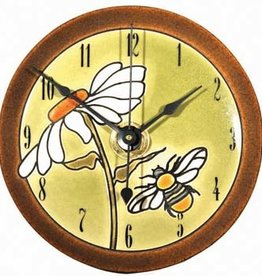 All Fired Up Clock - Daisy Bee