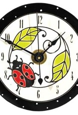 All Fired Up Clock - Ladybug