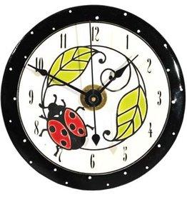 All Fired Up Clock - Ladybug