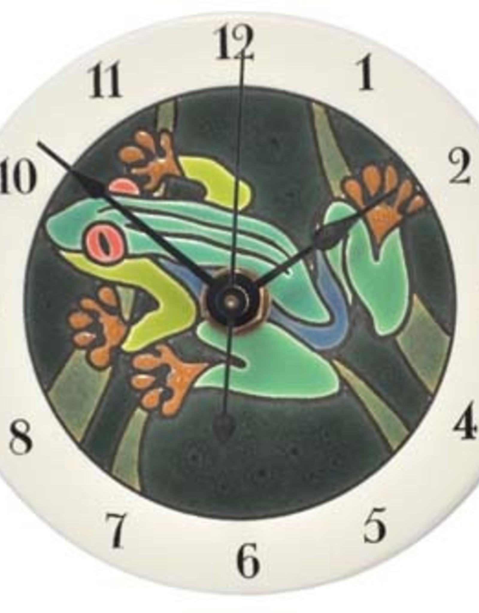All Fired Up Clock - Rainforest Frog
