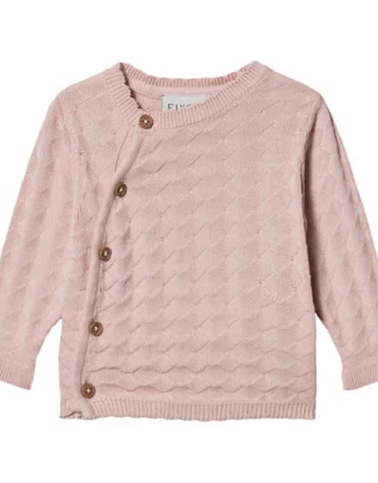 Fixoni Peach Whip Knit Sweater