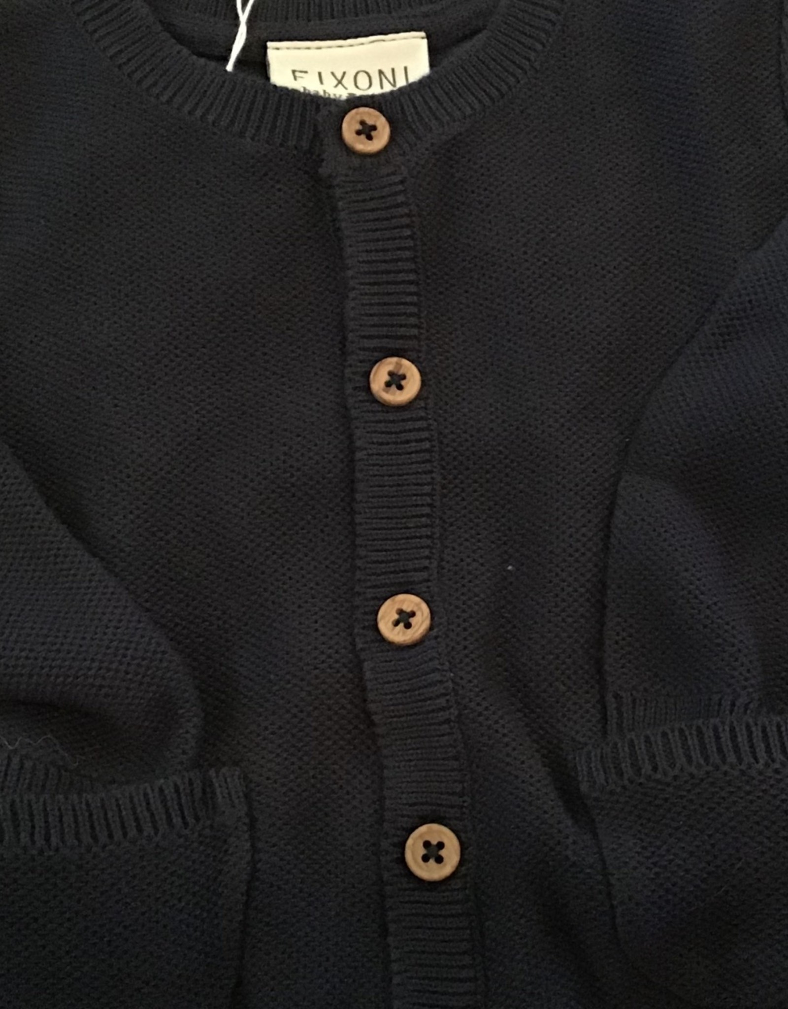 Fixoni Button Up Cardigan with Pocket