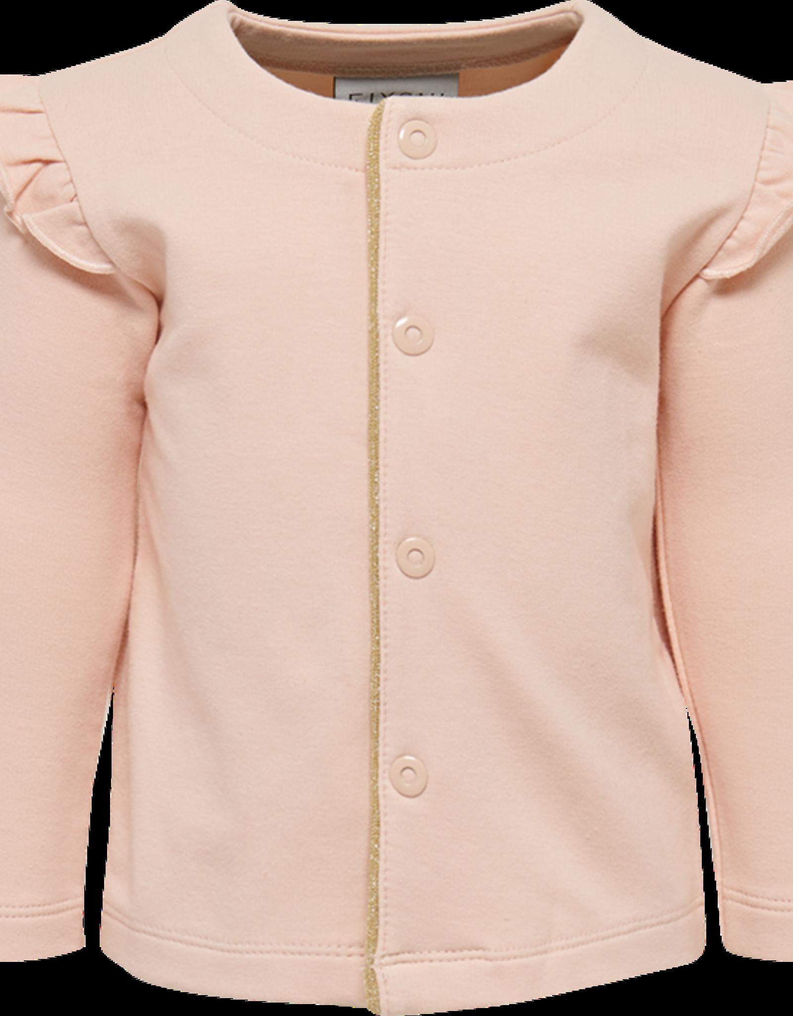 Fixoni Snap closure cardigan  ( peach whip)