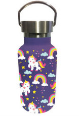 Unicorns and Rainbows Double Insulated Steel Water Bottle