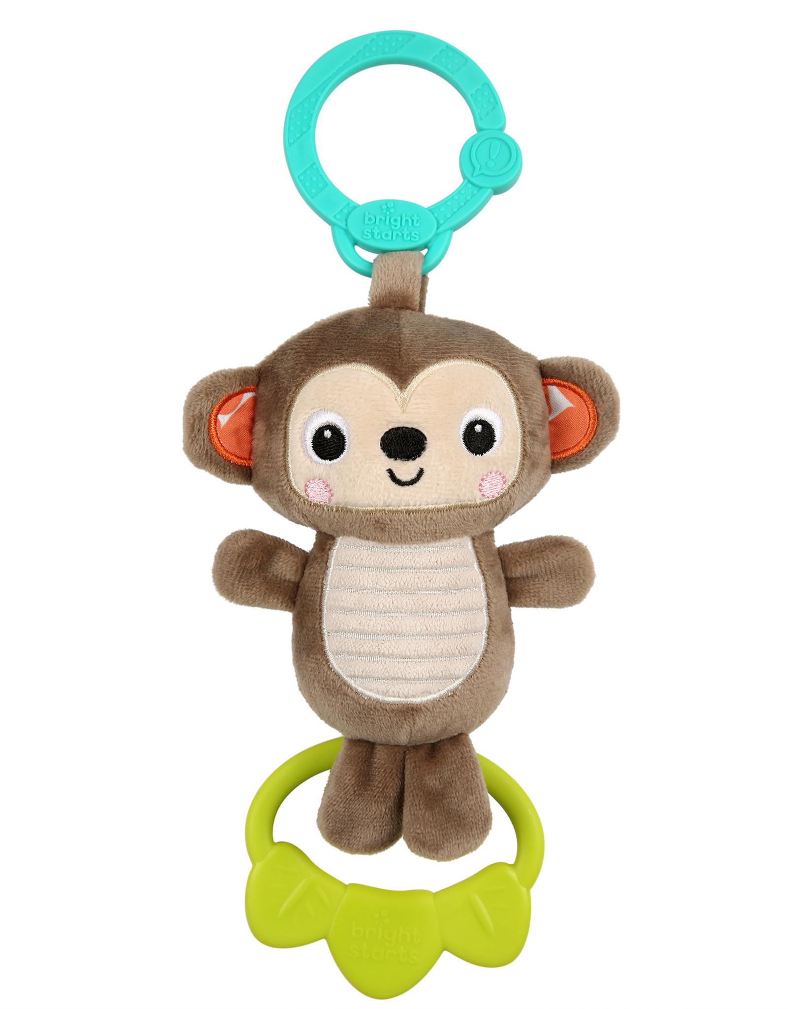 Brigh Stars Tug Tunes - On-the-Go Toy - Monkey