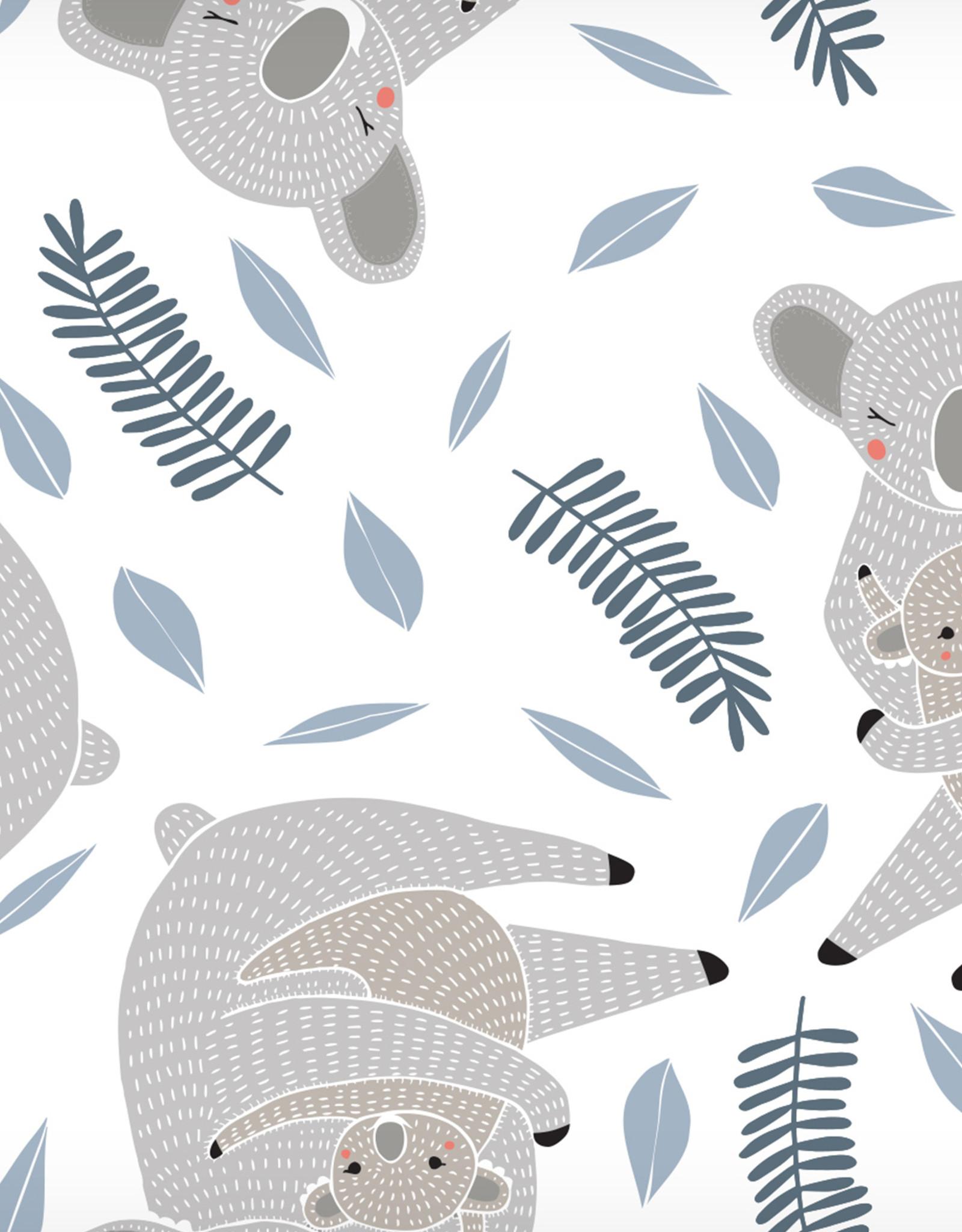 Security Blankets Muslin Cotton Koala 2pc