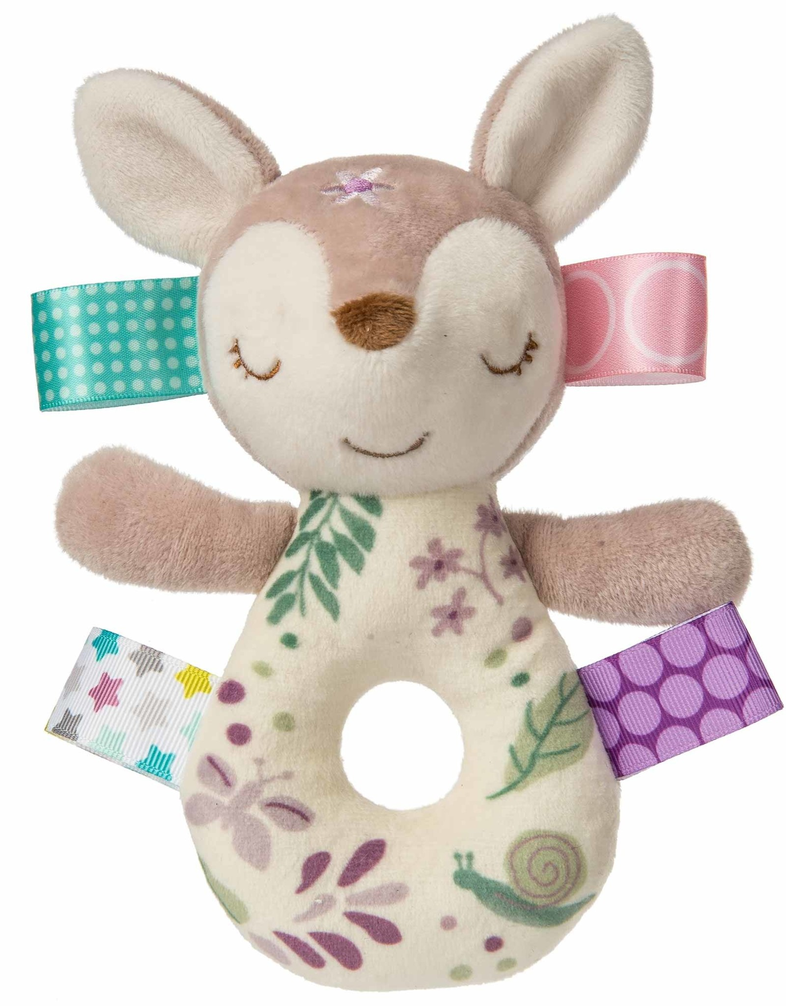 Mary Meyer Taggies Rattle - Flora Fawn - 6""
