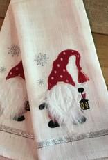 Gnome Tea Towel - Red
