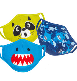 Zoocchini Organic Children's Face Masks - Sharks
