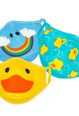 Zoocchini Organic Children's Face Masks - Ducks