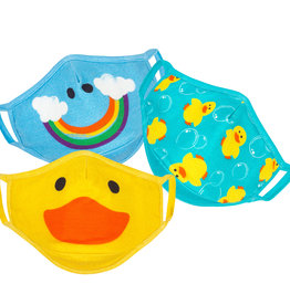 Zoocchini Organic Children's Face Masks - Ducks