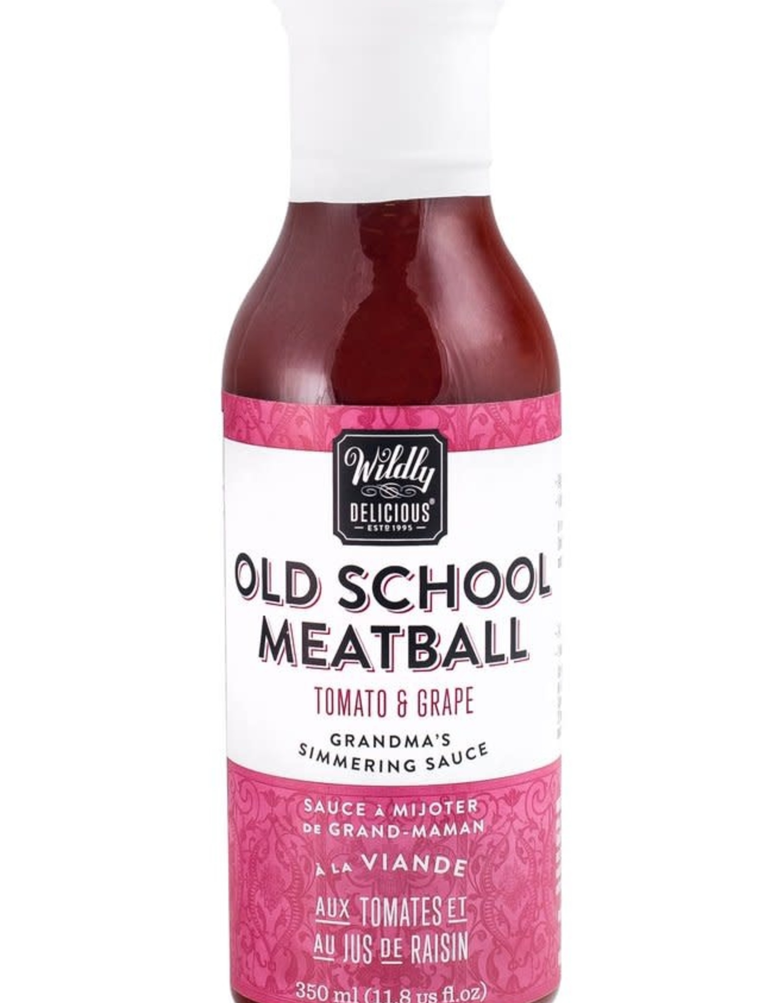 Wildly Delicious Old School Meatball Sauce