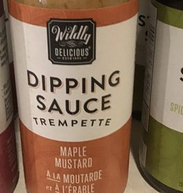 Wildly Delicious Maple Mustard Dipping Sauce