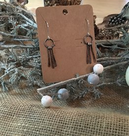 Shoreline Jewelry Copper & Sterling Silver Earwires w/ Beads -3