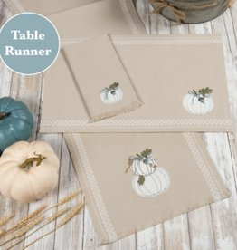 Welcome Pumpkin Table Runner