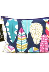 "Colibri Quill Pattern Large Sanck Bag : 7.5""x 7.5"""