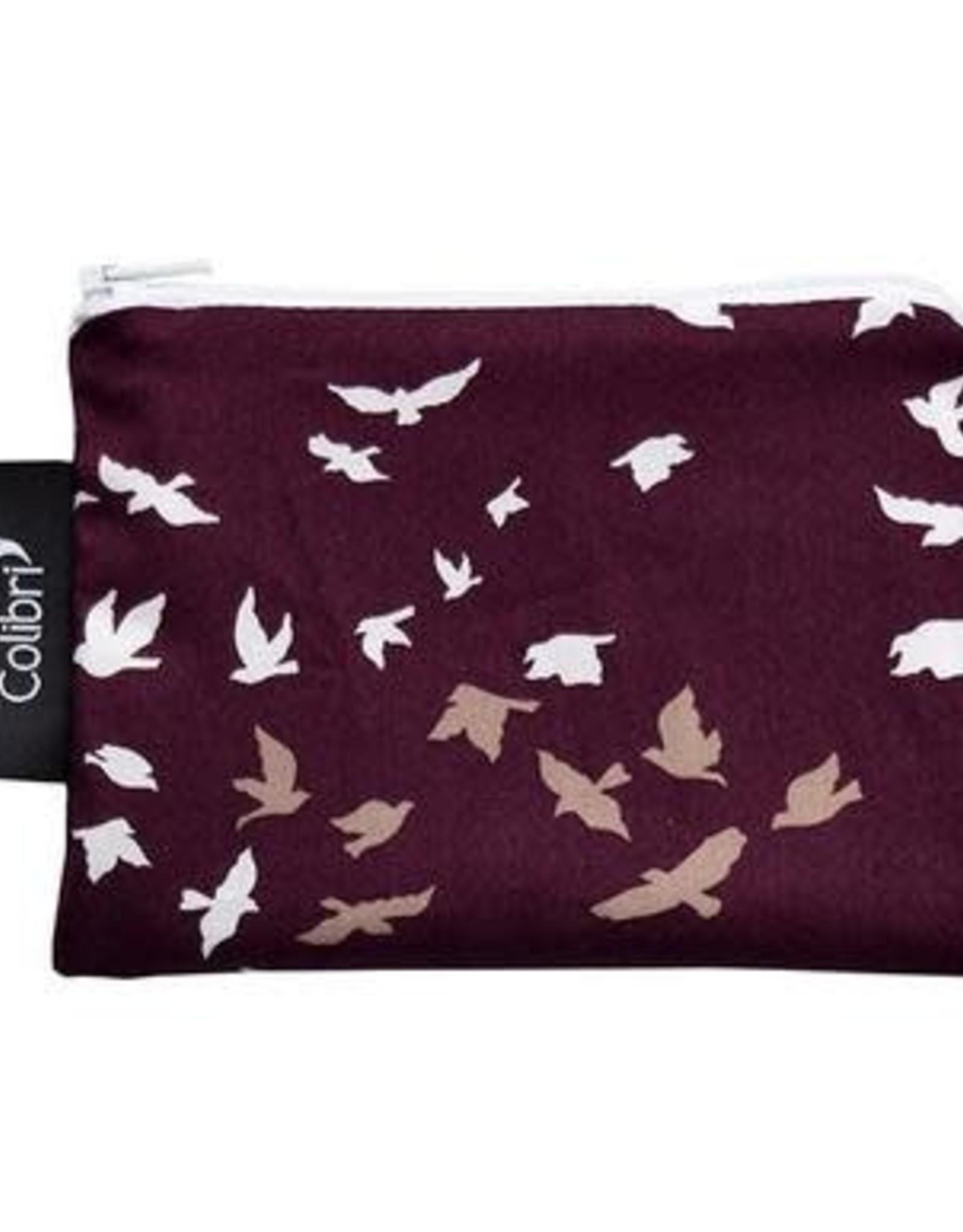 Colibri Flock Pattern Snack Bag small