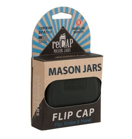 Recap Flip Cap for Mason Jar