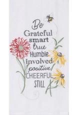 "Tea Towel ""Be Grateful, smart..."""