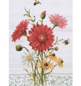 """Tea Towel """"Floral Buzz"""""""