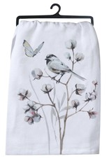 "Tea Towel ""Chickadees"""