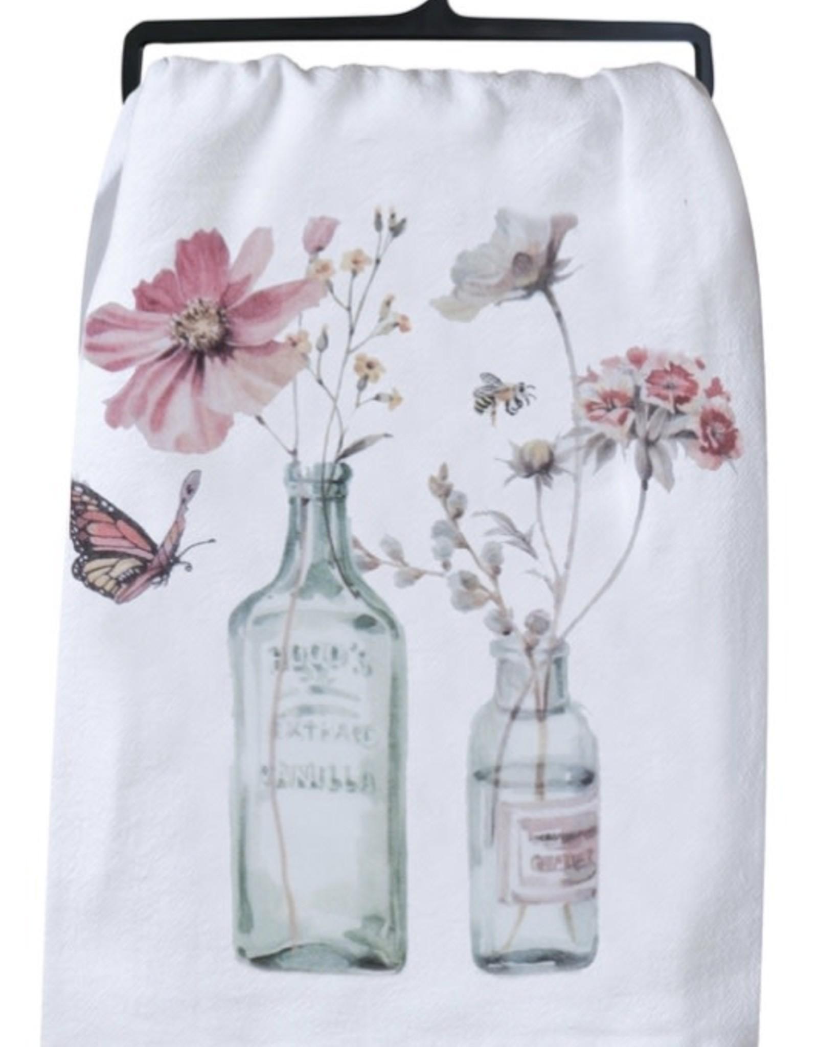 """Tea Towel """"Floral"""""""