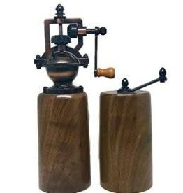 Rosewell Woodworking Walnut Pepper & Salt Grinder
