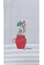 "Tea Towel "" Love"""