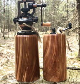 Rosewell Woodworking Cherry Burl Salt & Pepper Grinder