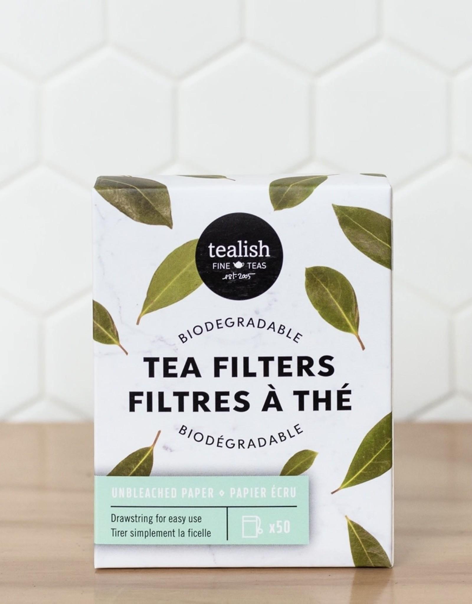 Tealish Tea Filter 50 pack