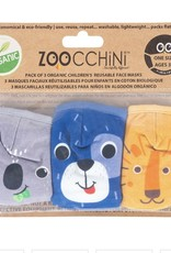 Zoocchini Organic reusable masks Dog (3 pk)